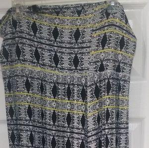 Dresses & Skirts - MAXI LONG SKIRT PLUS SIZE 1X
